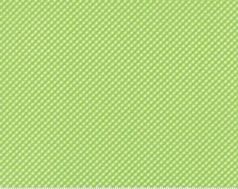 Moda Brighten Up- Green Checks, Fabric by the Yard