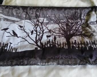 Peaceful Cemetery purse