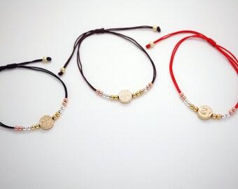 10 mm Mini Saint Benedict Adjustable Bracelet