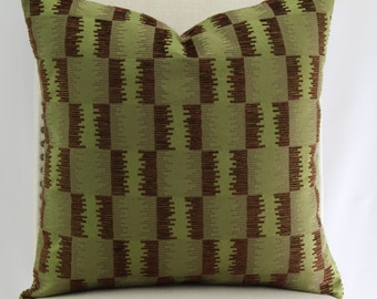 Designer pillow cover,throw pillow,accent pillow,decorative pillow same fabric on both sides.
