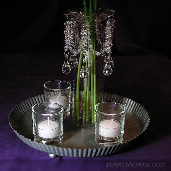 Bobeche Crystal Candle Ring from Surroundingsdotcom on ...