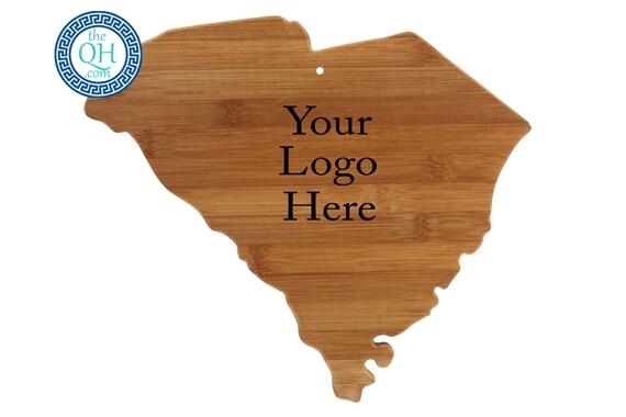 South carolina personalized cutting boards custom engraved