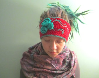 Custom Floral Ear Warmer Headband