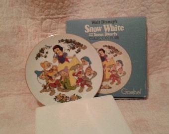 Goebel Snow White plate