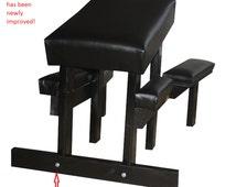 Angle spanking bench