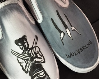 Custom made Wolverine Vans. Designed and personalized just for you!