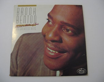 Brook Benton - His Greatest Hits, It's Just A Matter Of Time  - Circa 1984