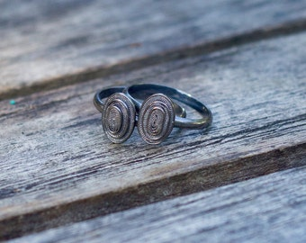 Patience ring - oval