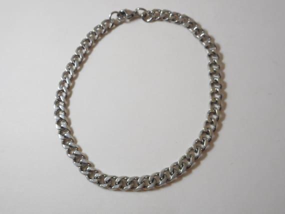 stainless steel ankle braceletjewelry by bbcraftsandsupplies