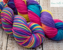 Hand dyed 8ply/DK yarn - My Candy Crush Addiction