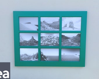 window pane picture frame large window picture frame solid color 4x6 openings - Windowpane Picture Frame