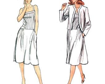 Vogue Sewing Pattern 7942 Misses' Jacket, Dress  Size:  14  Uncut
