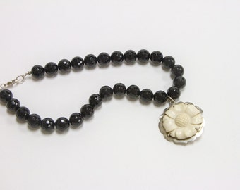 Black Onyx (Faceted) Necklace