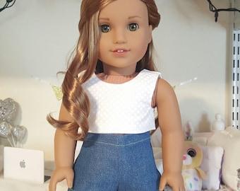 18 inch doll pom-pom shorts