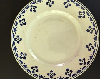 Vintage French Plate