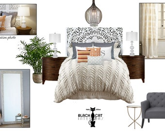 White Bohemian Bedroom bohemian bedroom | etsy