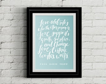 "Love Printable 11""x17"" Wall Art 