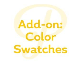 Add On - Color Swatch Sampler