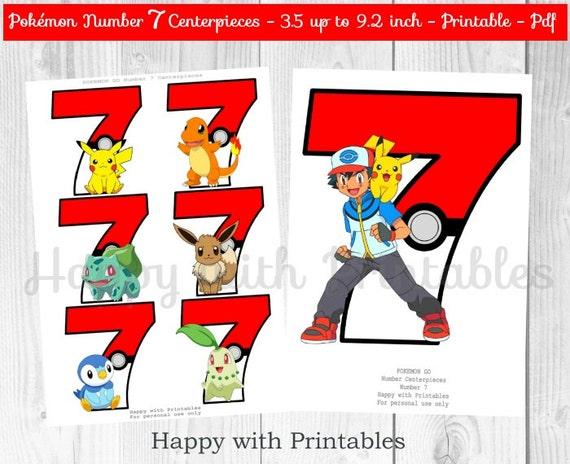 Pokemon GO Number 7 Centerpieces Pokeballs