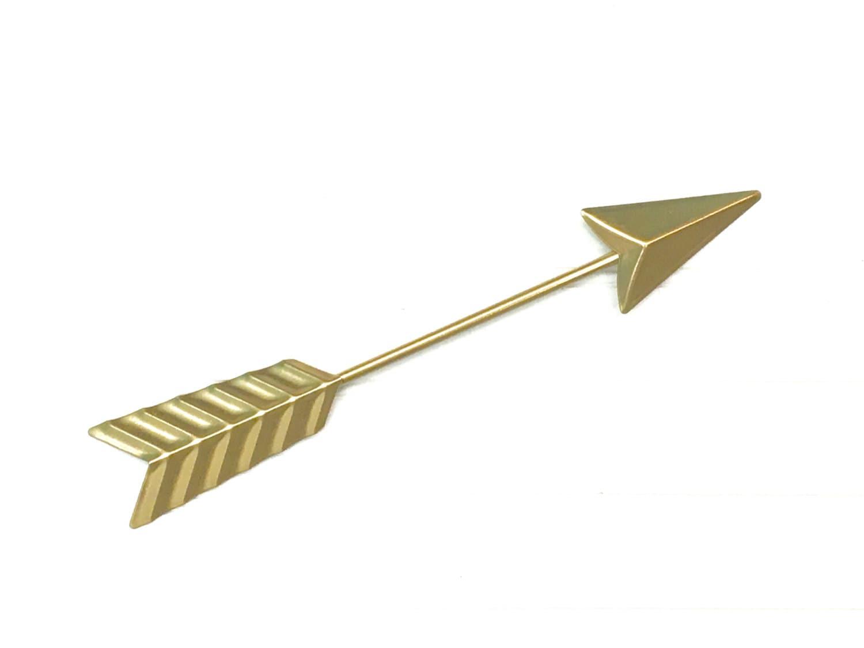 Gold Arrow Wall Decor Gold Arrow Bohemian Boho Metal