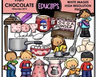 Hot Chocolate Clip Art Bundle