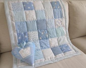 Handmade Baby  Patchwork  Quilt