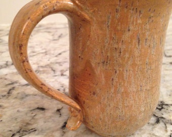 Tall Coffee Mug / Cup in River Bottom Glaze