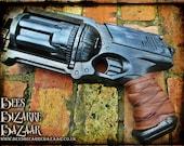 Steampunk Nerf Gun Pistol Maverick  - Cosplay - Zombie Apocalypse