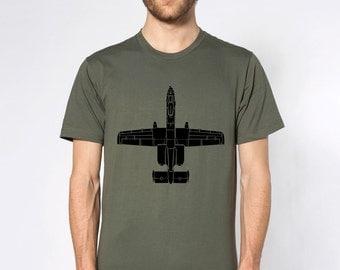 KillerBeeMoto: Fairchild Republic A-10 Thunderbolt II Warthog Short & Long Sleeve Shirt