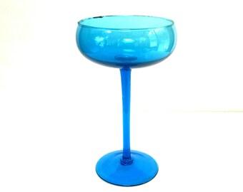 Glass Stemmed Bowl Etsy