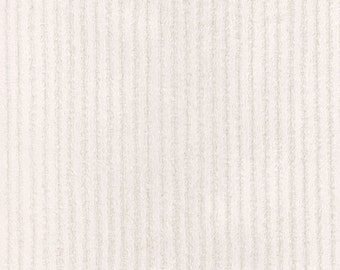 Natural Minky Chenille Fabric - By The Yard - Girl / Boy / Gender Neutral