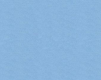 Solid Sky Blue Minky Fabric - By The Yard - Boy / Solid / Fabric