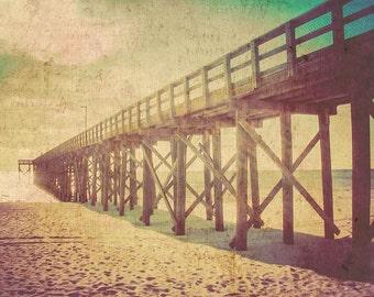 Florida Photography - Fine Art Photography - Beach Photography - Florida Art Print - Beach Art Print - Florida Pier