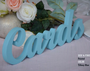 Weddings Cards Sign for Reception, Wedding Cards Sign