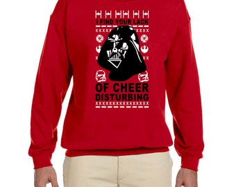 I find your lack of cheer disturbing Men's Crew Neck Sweater