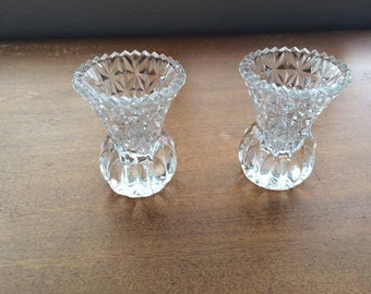 crystal toothpick holders