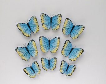 Wall Butterflies; Nursery Wall Decor; Butterfly decor; Girls room decor; 3d wall art; baby room wall decor; wedding decor; 3d butterflies;