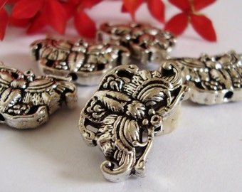 3 Asian Theme Butterfly Beads