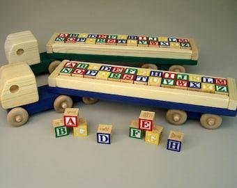 Jumbo ABC Block Truck