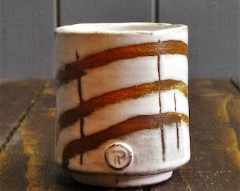Yanomi or Japanese Tea Cup - Hand Thrown Pottery