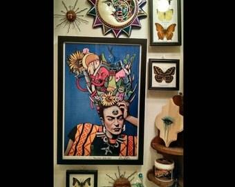 Viva La Frida Framed