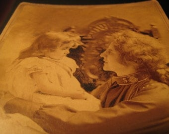 CATHERINE BOOTH & Baby NINA - Salvation Army Cabinet Card