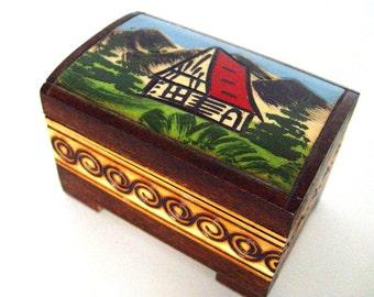Wooden Box.