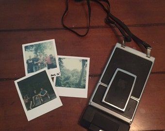 Polaroid SX-70 Land Camera Sonar OneStep - Film Tested - Working
