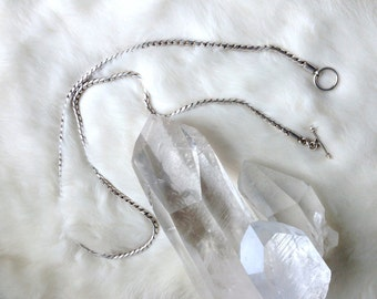 Fine Chain Necklace Sterling Silver