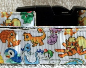 Pokemon dog collar