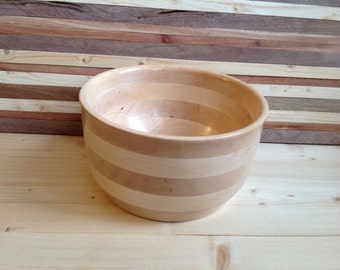 Wood Bowl handcrafted from Maple-15MB001
