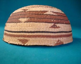 hupa basketry cap