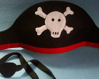Felt PIRATE HAT
