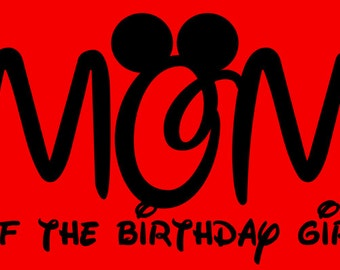 Mom/Dad of The Birthday Girl/Princess Shirt